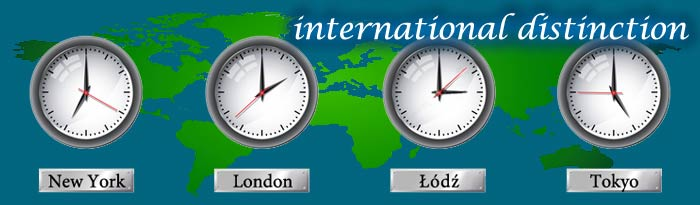 International distinction