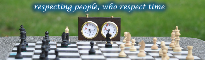 Respecting people who respect time