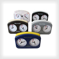 Chess clock Hetman - available in various colours