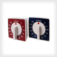 Timers - square version, available in various colours
